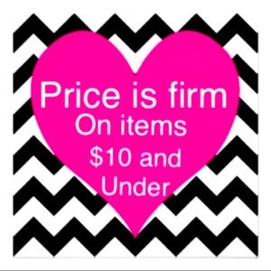 💗PRICE FIRM ON ITEMS $10 & ⬇️